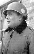 Brig General Anthony C Mc Auliffe at Bastogne