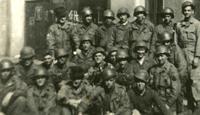 Men of A Company 327th GIR in Austria circa 1945 (Courtesy: Mike Martin)