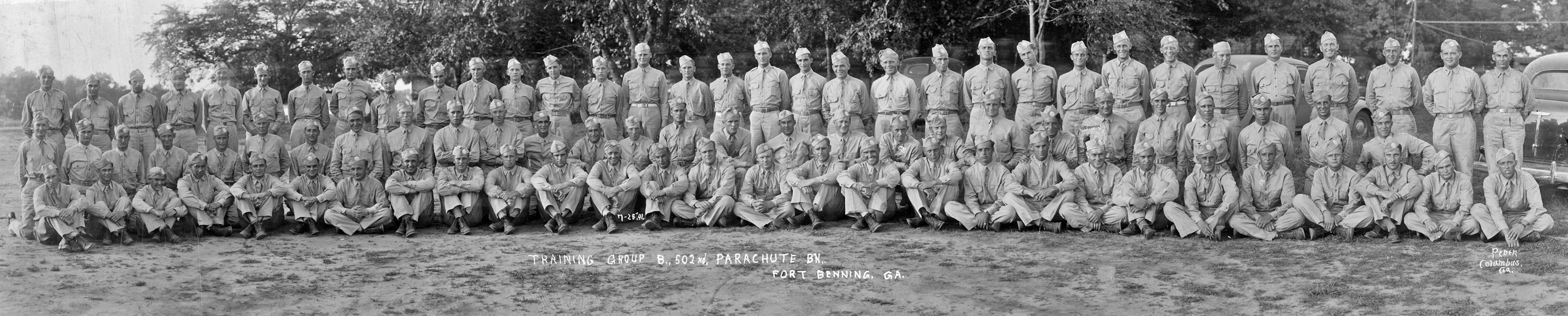The 502nd Parachute Infantry Regiment(PIR) during WW II