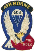 503rd Parachute Infantry Regiment Shoulder Patch