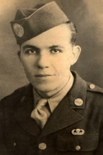 Pfc Elwood L Waterman Jr - (Source: Dominique Potier)
