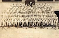 Company C 550th Airborne Infantry circa 1941 under the command of Captain Sachs - CLICK to Enlarge -